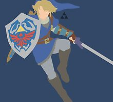 Link (Blue) - Super Smash Bros. by samaran