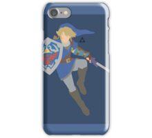Link (Blue) - Super Smash Bros. iPhone Case/Skin