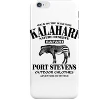 Kalahari Zebra iPhone Case/Skin