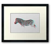 Trippy Hunter Framed Print