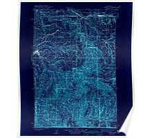 USGS Topo Map Washington Pomeroy 243191 1942 125000 Inverted Poster