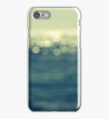 blurred light iPhone Case/Skin