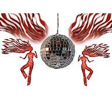 disco divas Photographic Print