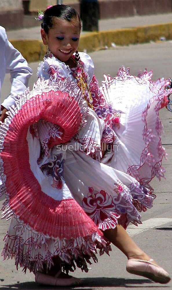 Quot Dance For Joy Girl In Traditional Dress Ecuador Quot By