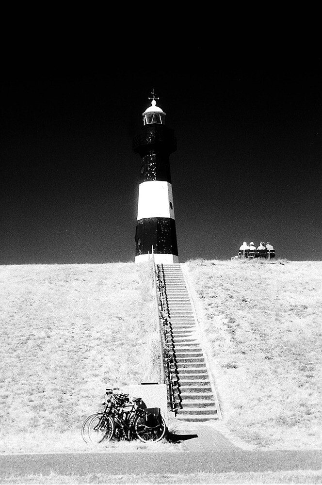 bikers day out at the lighthouse 1 by ragman