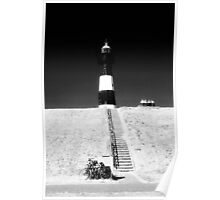 bikers day out at the lighthouse 1 Poster
