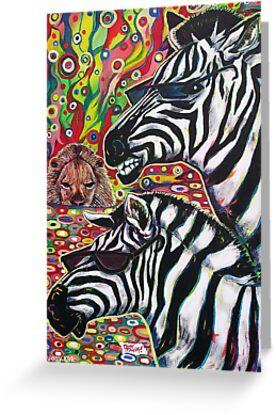 'Zebra Cool' by Jerry Kirk