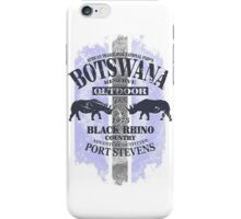 Botswana Rhino Safari iPhone Case/Skin