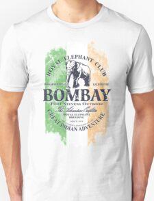 Bombay Elephant Club - India vintage flag Unisex T-Shirt