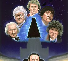 The Five Doctors  by Andrew  Skilleter