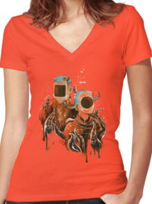 Lobotomia Women's Fitted V-Neck T-Shirt