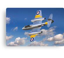 Gloster Meteor Jet Trainer Canvas Print