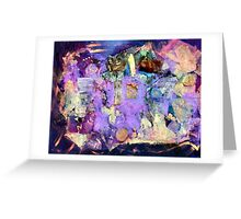 Fantasia Collage  Greeting Card