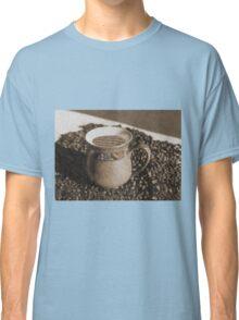 Mug of coffee and a good book Classic T-Shirt