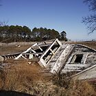 Old Boat Wreck on the Eastern Shore of VA by MattawomanImage