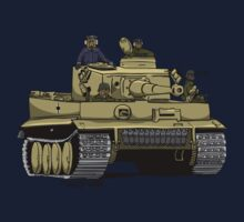 Dogs of War, Tiger 1 One Piece - Short Sleeve
