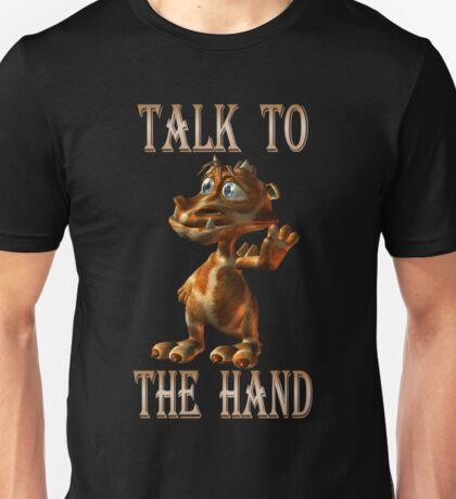 Talk to the Hand .. fantasy dragon Unisex T-Shirt