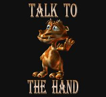 Talk to the Hand .. fantasy dragon Unisex T-Shirt