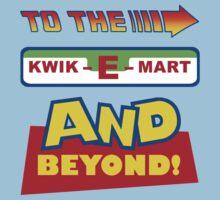 To The Kwik-E-Mart Kids Tee
