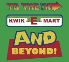 To The Kwik-E-Mart One Piece - Short Sleeve