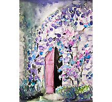 Purple Castle Photographic Print
