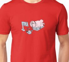 A FUTURE HUMAN ATOP A PLEASURETRON Unisex T-Shirt