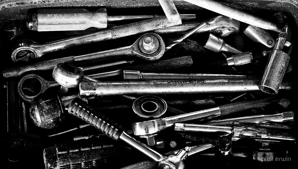 where did i leave my drill bit ??? by paul erwin