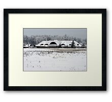 New building in old style Framed Print