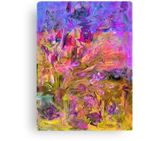 Zigzags Abstract Canvas Print
