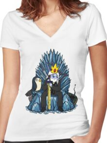 Nuclear Winter is Coming Women's Fitted V-Neck T-Shirt