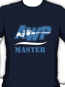 CS:GO AWP Master logo HQ T-Shirt