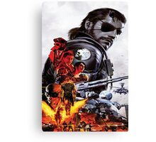 Metal Gear Solid 5 - The Phantom Pain Canvas Print