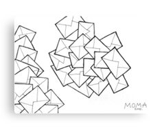 DRAWING By Moma Bjekovic Canvas Print