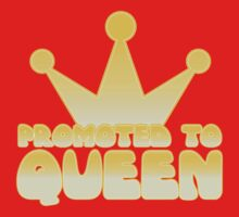 Promoted to Queen Baby Tee