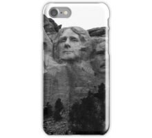 Mount Rushmore National Memorial iPhone Case/Skin
