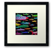 Fishes Framed Print