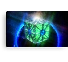 Space Cube Canvas Print