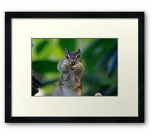 If you're happy and you know it, clap your hands Framed Print
