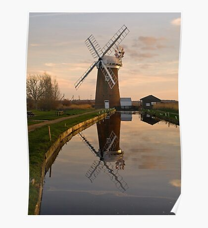 Horsey Mill Poster