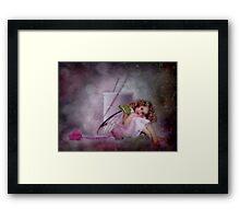 A Little Fairy Framed Print