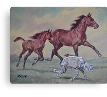 Young,Wild and Free Canvas Print
