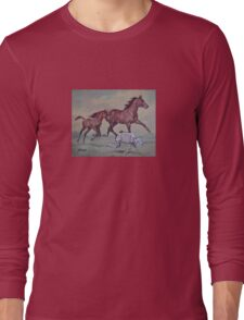 Young,Wild and Free Long Sleeve T-Shirt