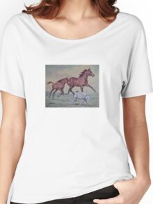 Young,Wild and Free Women's Relaxed Fit T-Shirt