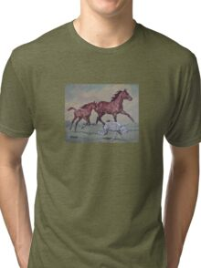 Young,Wild and Free Tri-blend T-Shirt