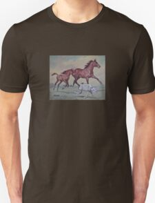 Young,Wild and Free Unisex T-Shirt