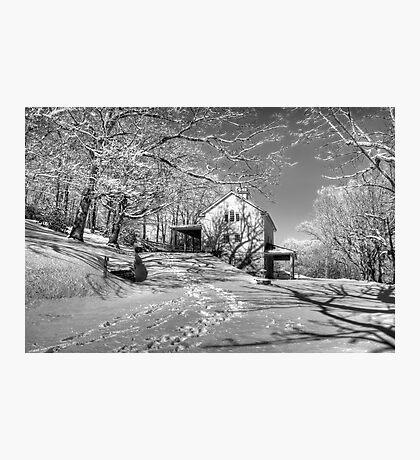 Blue Ridge Winter Photographic Print
