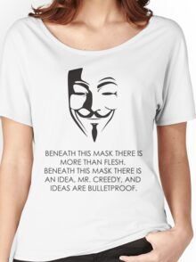 V For Vendetta Women's Relaxed Fit T-Shirt