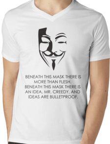 V For Vendetta Mens V-Neck T-Shirt