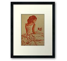 Belle of the Ball Framed Print