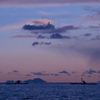Sea Kayaking at Sunset by WillH